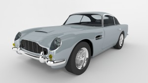 Aston Martin Car Shot